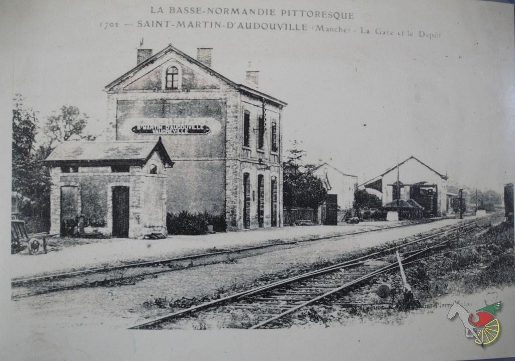 Carte postale de l'ancienne gare