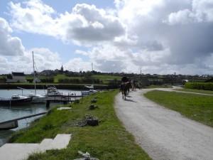 Quineville harbour