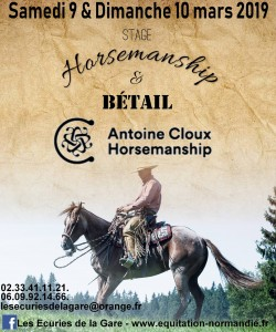 Affiche Antoine Cloux