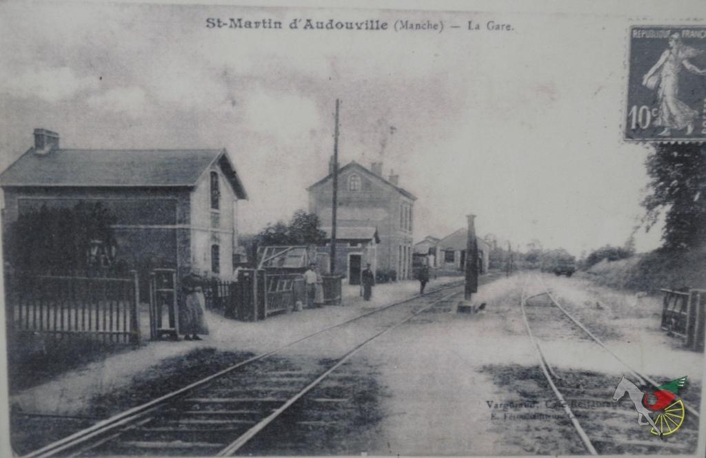 L'ancienne gare de St. Martin d'Audouville